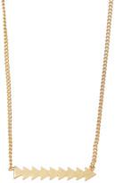 Madewell Arrow Bar Pendant Necklace