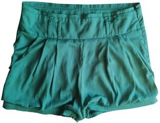 Patrizia Pepe Green Shorts for Women