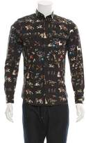 Valentino Printed Military Shirt w/ Tags