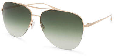 Barton Perreira Men's Chevalier Julep Aviator Sunglasses