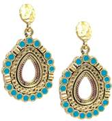 Alfani Gold-Tone Textured teardrop Earrings