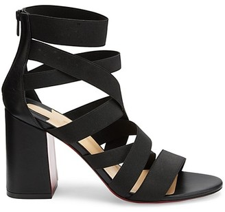 Christian Louboutin Gladia Pop Strappy Block-Heel Sandals