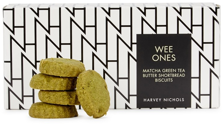 Harvey Nichols Wee Ones Matcha Green Tea Butter Shortbread Biscuits 150g