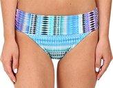 Bleu Rod Beattie Bleu | Rod Beattie Women's Desert Heat Shirred-Band Midster Bikini Bottom