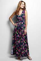 Lands' End Women's Knit Maxi Dress-Fresh Melon