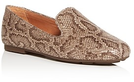 Gentle Souls by Kenneth Cole Women's Eugene Snake-Embossed Smoking Slippers