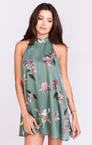 MUMU V-Right Back Mini Dress ~ Laura Flora