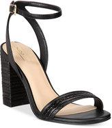 Aldo Izabela Block-Heel Two-Piece Sandals