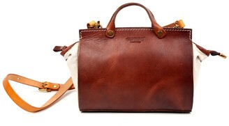 Old Trend Out West Leather Satchel Bag