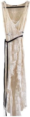 Topshop Tophop Ecru Lace Dress for Women