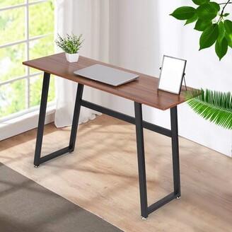 Inbox Zero Modern Home Office Study Desk and Chair Set