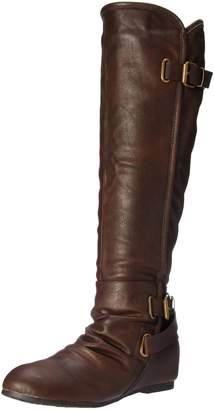 DREAM PAIRS Women's Akris Knee High Boot