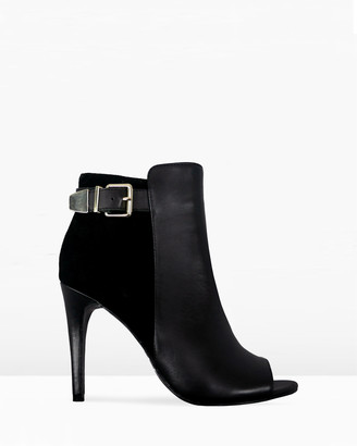 IRIS Footwear - Women's Black Open Toe Heels - Madisyn - Size One Size, 8 at The Iconic