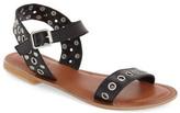 Topshop Grommet Stud Flat Sandal