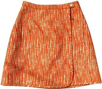 Carven Red Cotton - elasthane Skirt for Women