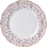 Royal Albert Rose Confetti Vintage Dinner Plate