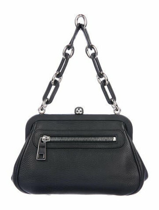 Marc Jacobs Leather Frame Bag Black