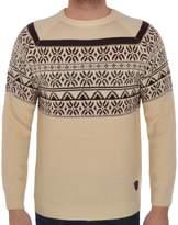 Soul Star Men's Knitted Nordic Christmas Jumper XL