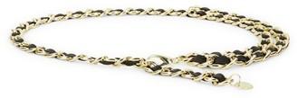 B-Low the Belt Gissel Leather & Chain Belt