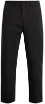 Acne Studios Angus Salt cropped cotton chino trousers