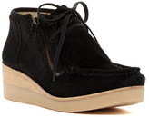 Derek Lam Ezra Genuine Calf Hair Moc Chukka Wedge Bootie