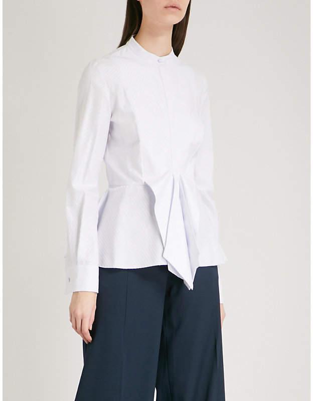 Antonio Berardi Moonstone cotton-blend shirt