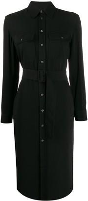 Polo Ralph Lauren belted shirt midi dress