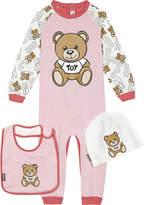 Moschino Teddy bear onesie set 0 -12 months