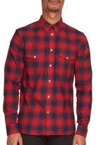 Givenchy Two-Pocket Plaid Shirt