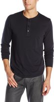 Alternative Men's Organic Pima Henley Long Sleeve