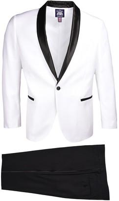 Savile Row Co Shawl Lapel Slim Fit Tuxedo