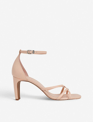 Whistles Hallie strappy leather heeled sandals
