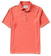 Margaritaville Burnout Pique Polo Shirt