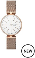 Skagen CONNECTED SIGNATUR ROSE GOLD STAINLESS STEEL HYBRID SMARTWATCH