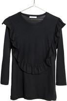 Ragdoll LA RUFFLE TEE Faded Black