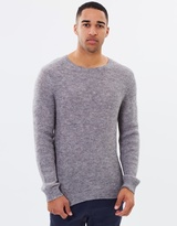 Rusty Breed Crew-Neck Knit Jumper