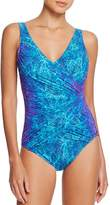 Gottex Chameleon Maillot One Piece Swimsuit