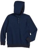 RVCA Boy's Capo Twill Knit Hoodie