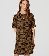 LOFT Deco Shift Dress