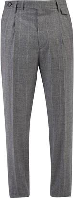 Brunello Cucinelli Plaid Trousers