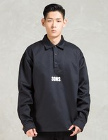 SONS Black Overshirt