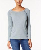 Calvin Klein Jeans Lace-Trim Top