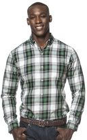 Chaps Men's Beacon Plaid Button-Down Shirt