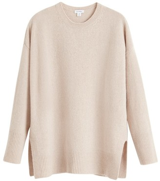 Cuyana Recycled Cashmere Crewneck Sweater