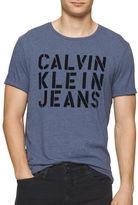 Calvin Klein Jeans Text Logo T-Shirt
