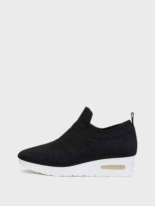 DKNY Angie Slip On Low Wedge Sneaker