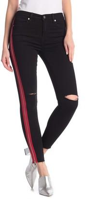 Blank NYC High Rise Paneled Zipper Jeans