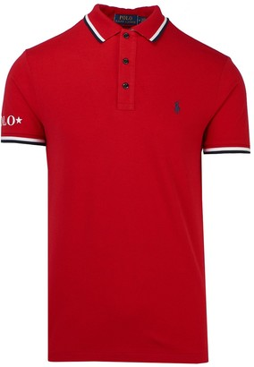 Polo Ralph Lauren Red Polo Shirt