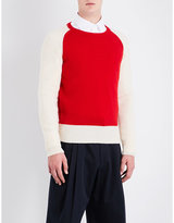 Dries Van Noten Tamal Knitted Wool Jumper