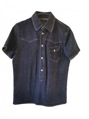 Neil Barrett Blue Denim - Jeans Top for Women